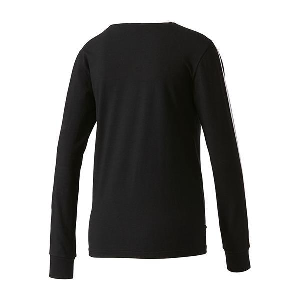 stripes ls shirt damen schwarz lifestyle freizeit langarm shirt. Black Bedroom Furniture Sets. Home Design Ideas