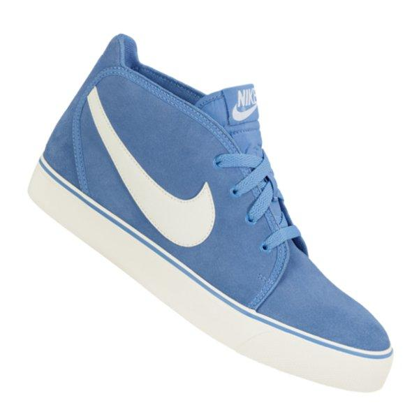 Nike Toki Leather Sneaker Blau F410 555317