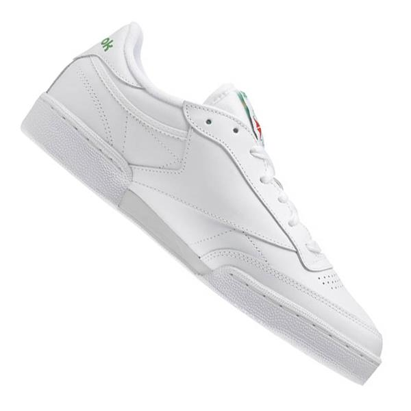 reebok club c 85 sneaker white green ebay. Black Bedroom Furniture Sets. Home Design Ideas