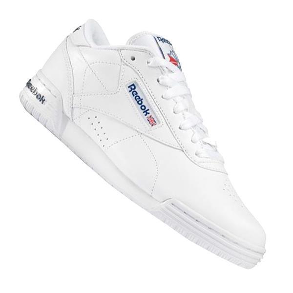 Reebok Logo Ex-O-Fit Niedrig Clean Logo Reebok Sneaker Weiss 44fa62