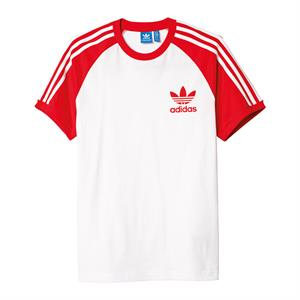 adidas t-shirt rot weiß