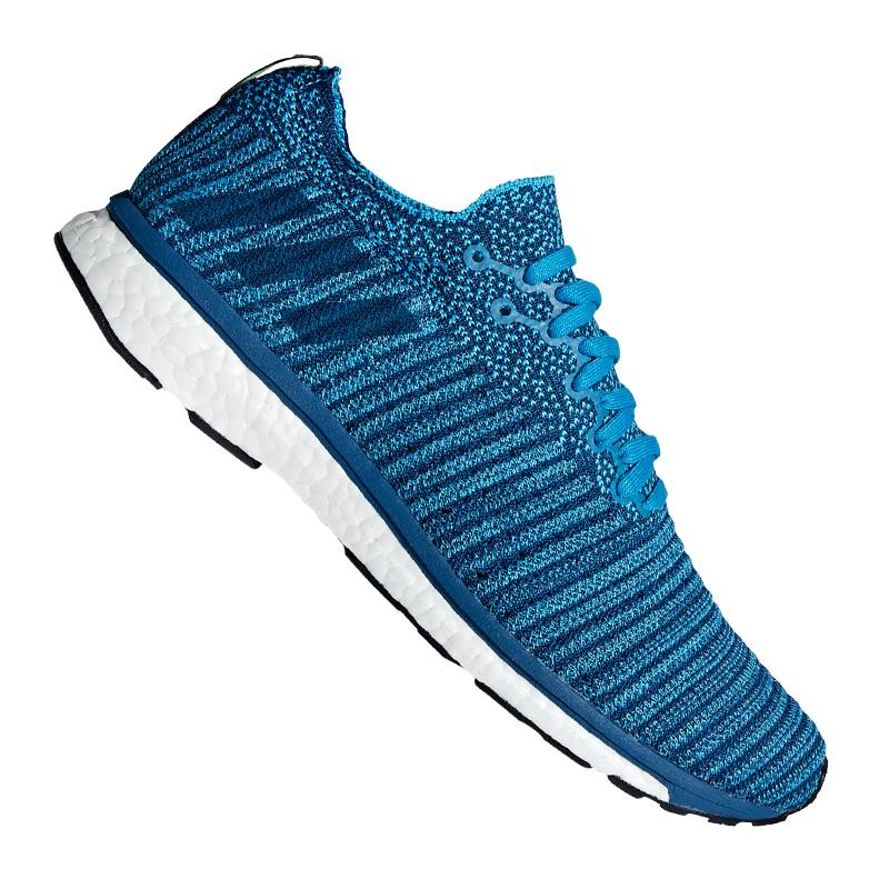 Adizero  prime running bluee white  no minimum