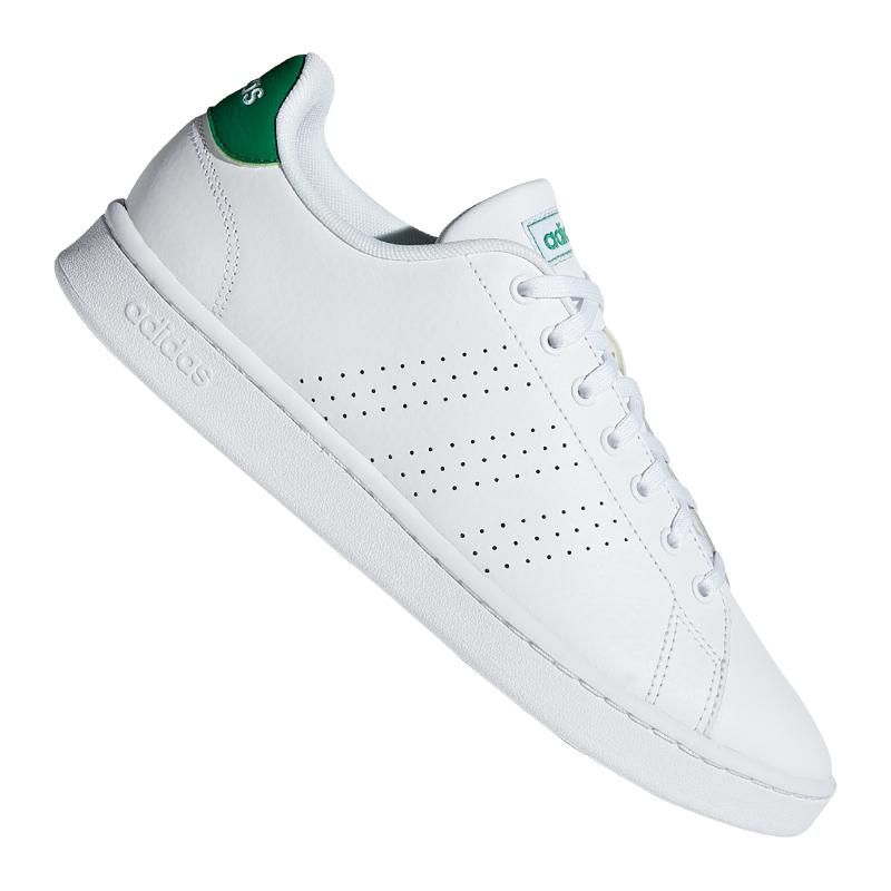 adidas Advantage Sneaker Weiss Grün