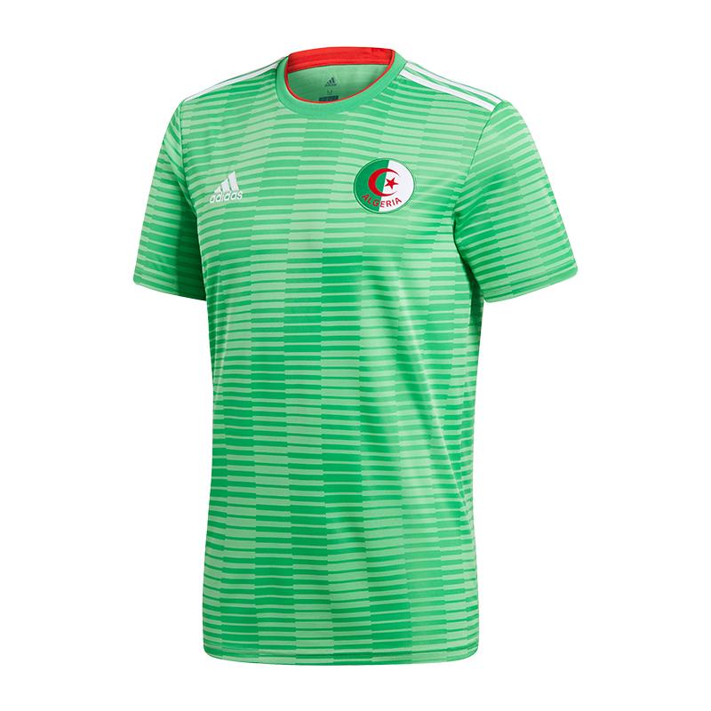 Adidas Argelia Camiseta de Fuera WM 2018 verde
