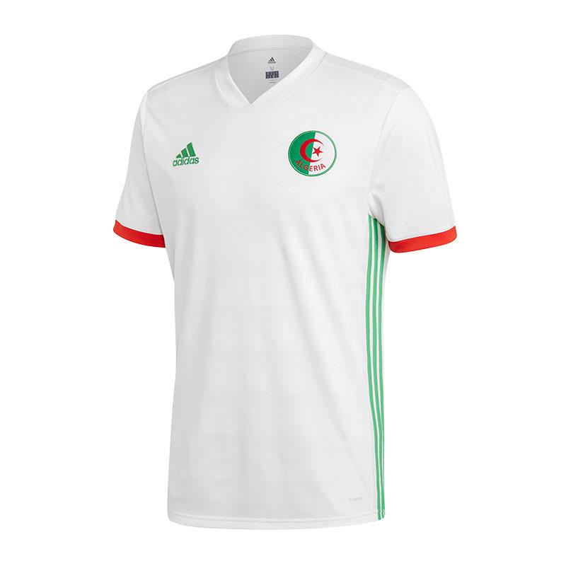 Adidas Algerien Trikot Trikot Trikot Home WM 2018 Weiss 45ca63