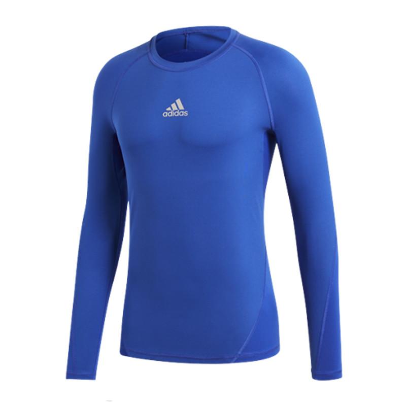 Adidas Alpha skin shirt manches longues KIDS rouge