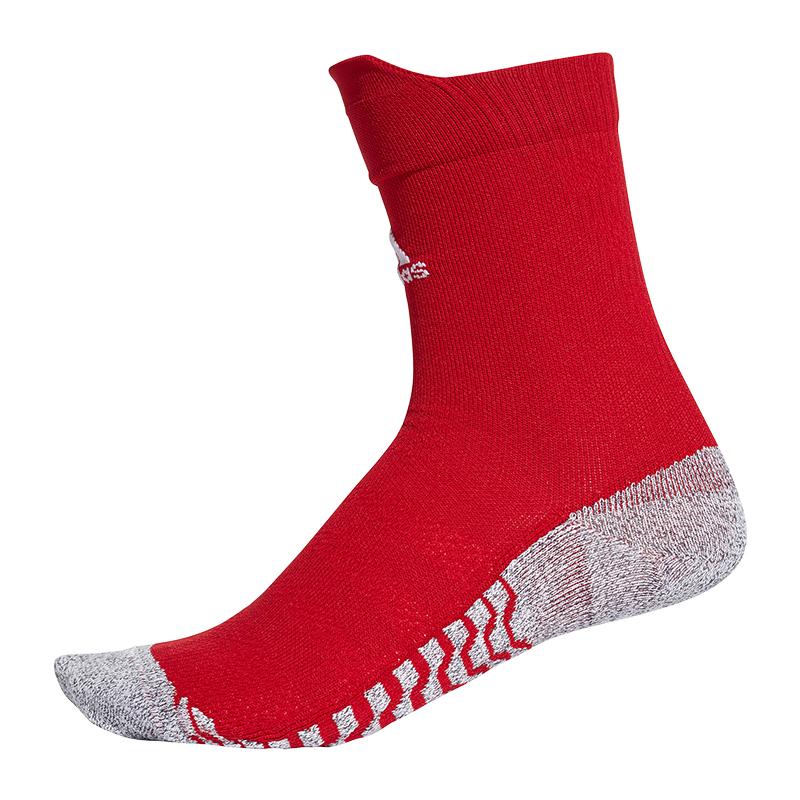 Adidas Alphaskin Traxion Ras Du Cou Ul Chaussettes Blanc Rouge