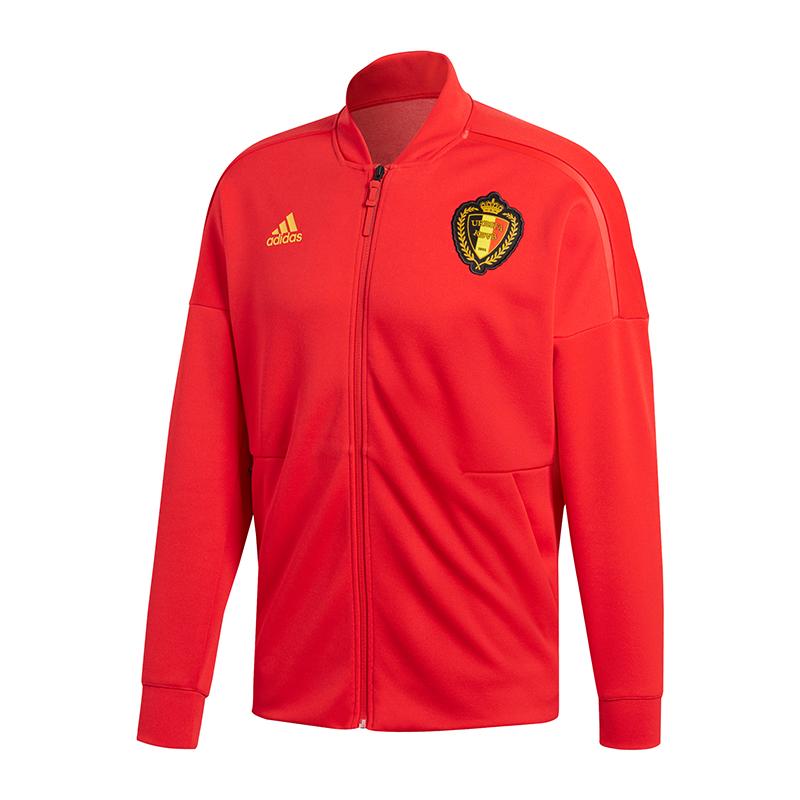 Adidas Belgique Par Exemple N. E. Veste Tricoté Veste Rouge