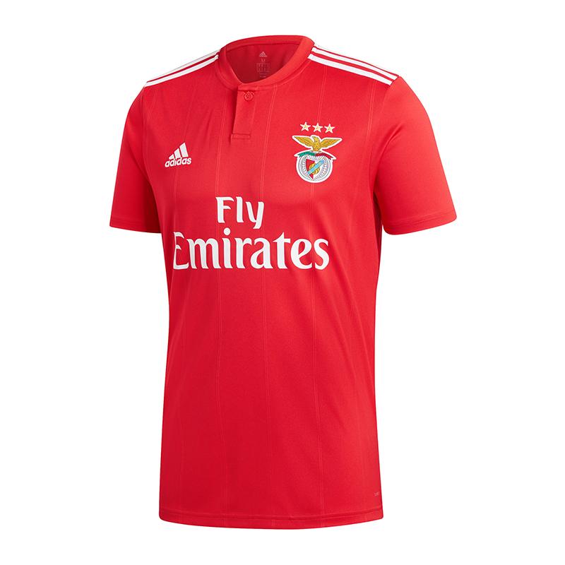 Adidas Benfica Lissabon Trikot Home 2018 2019 2019 2019 Rot  | Ästhetisches Aussehen  7272cd