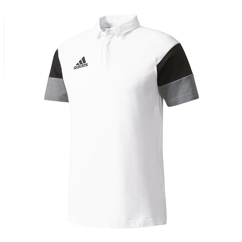 adidas polo weiß