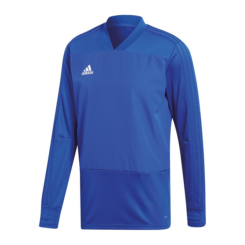 Adidas Condivo 18 Felpa Bianco Blu
