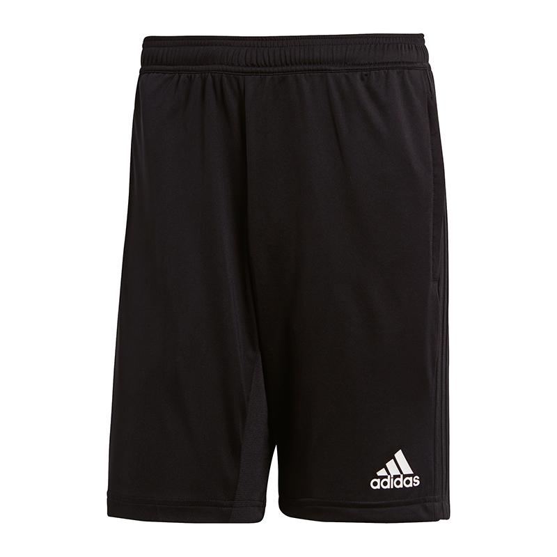 Adidas Condivo 18 Short D'entraînement Noir Blanc Marchandises De Proximité