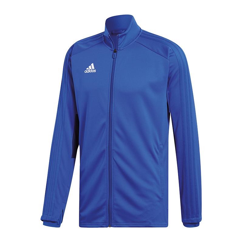 Adidas Condivo 18 Felpa per tuttienauominito Blu Bianco