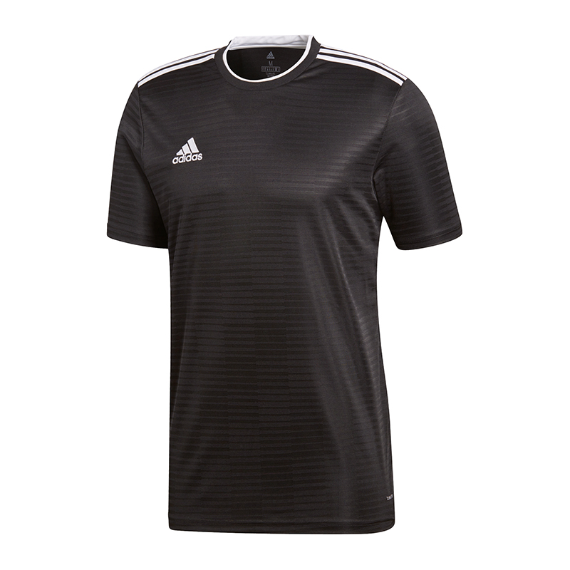 Adidas-Condivo-18-Maillot-Manches-Courtes-Noir-Blanc