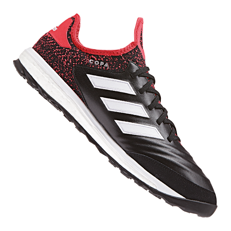 huge selection of f1838 e36ee Das Bild wird geladen adidas-COPA-Tango-18-1-TR-Schwarz-Rot