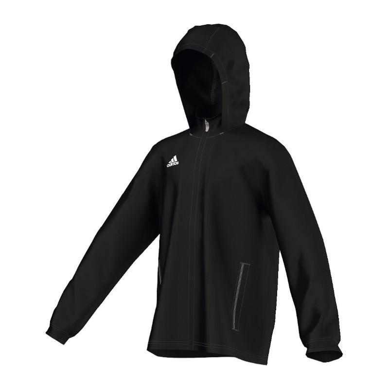 Chubasquero Núcleo Ebay Chaqueta 15 Negro Adidas Impermeable S1Pqw