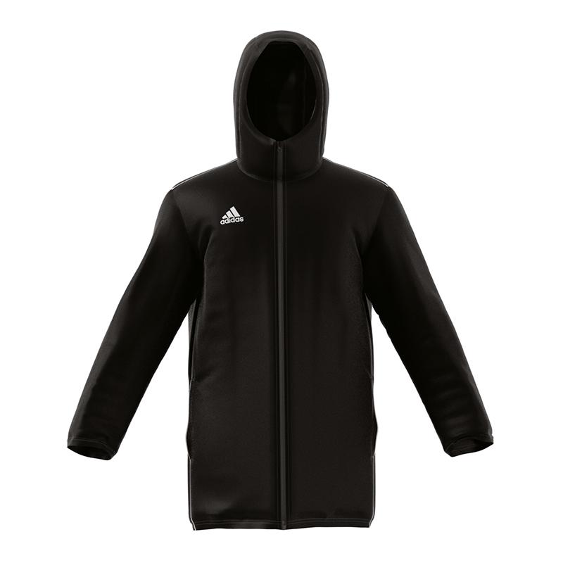 Adidas Core 11 Stadionjacke black white Shop schwarz Fußball
