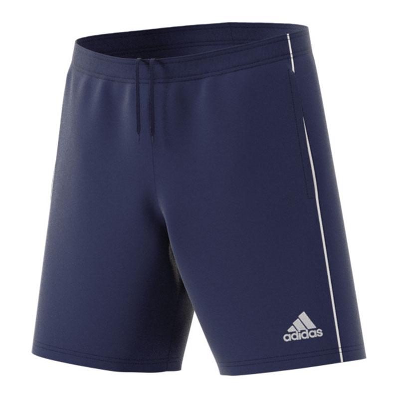 Adidas Core 18 Short D'entraînement Bleu Marine