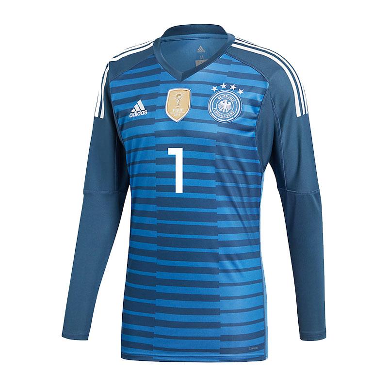 ADIDAS Germania Portiere Jersey Kids WM2018 NUOVA 1