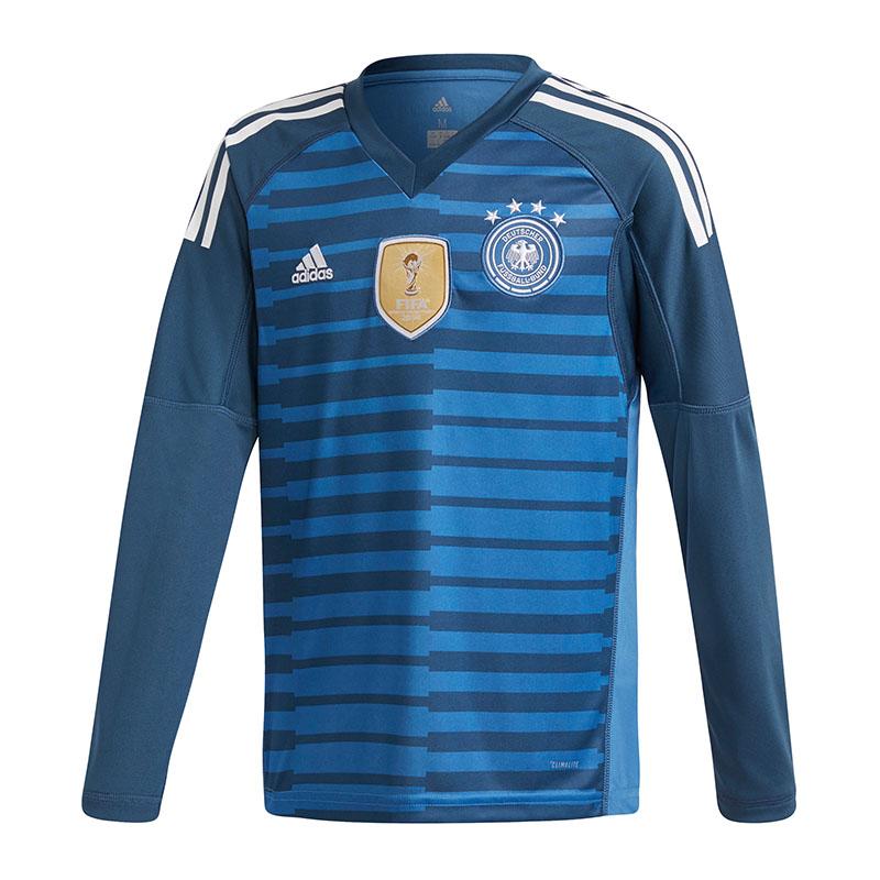 Adidas-Allemagne-MAILLOT-DE-GARDIEN-ENFANTS-wm18-Bleu