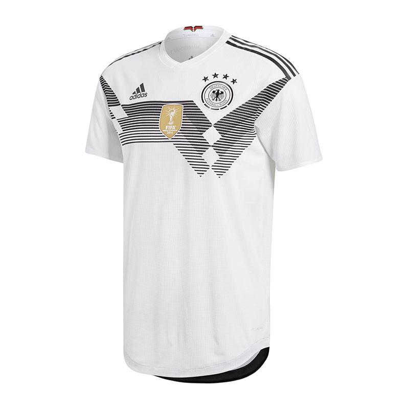 Adidas DFB Deutschland Auth.Trikot Home WM18 Weiss
