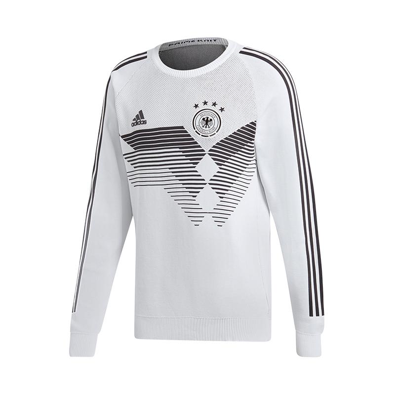 Lavorato Adidas Bianco Dfb A Germania Maglia Home Felpa zrrw0Iq