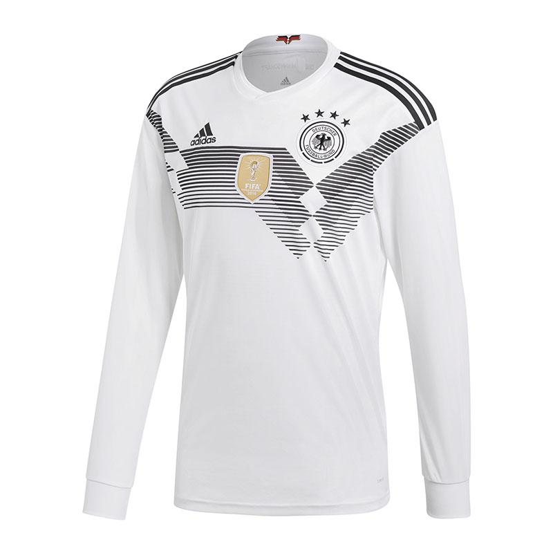 Adidas DFB Maillot Allemagne hauteur manches longues wm18 white