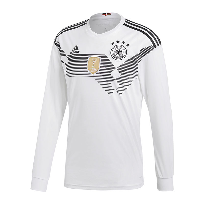 Adidas DFB Maglia Germania H Manica Lunga WM18 Bianco