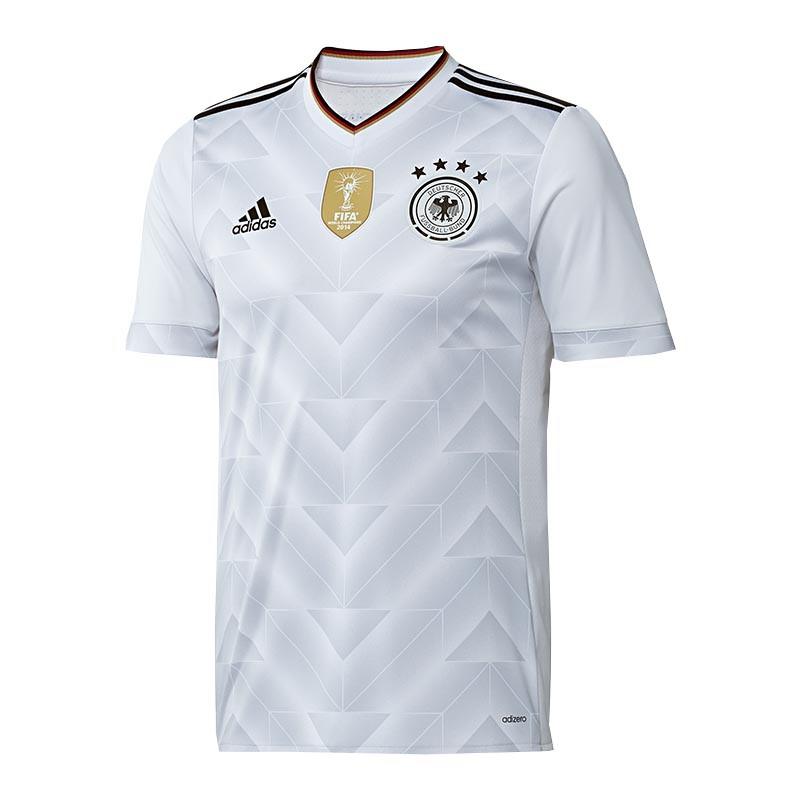 Adidas DFB Alemania Camiseta Casa Niños 2017 blancoo