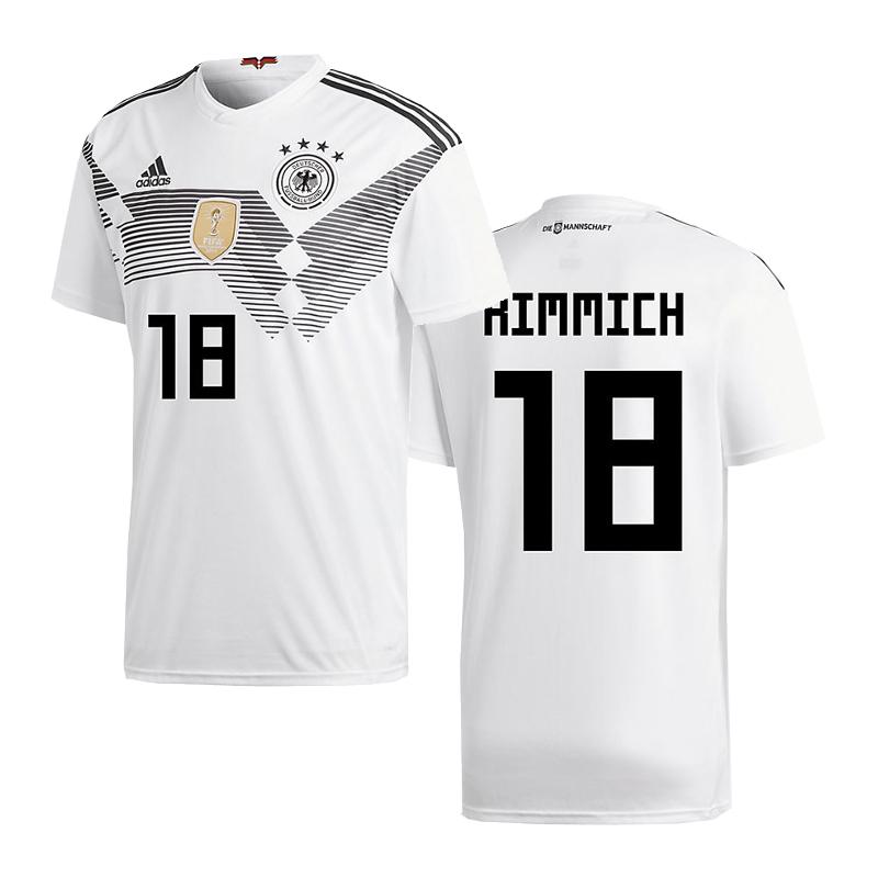 Adidas DFB Alemania Camiseta Casa Niños WM 2018 Kimmich 18
