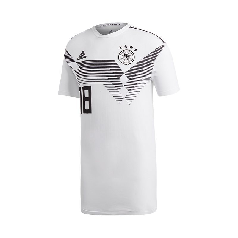 Adidas DFB Deutschland Trikot Home Knit Weiss  | Elegante Und Stabile Verpackung