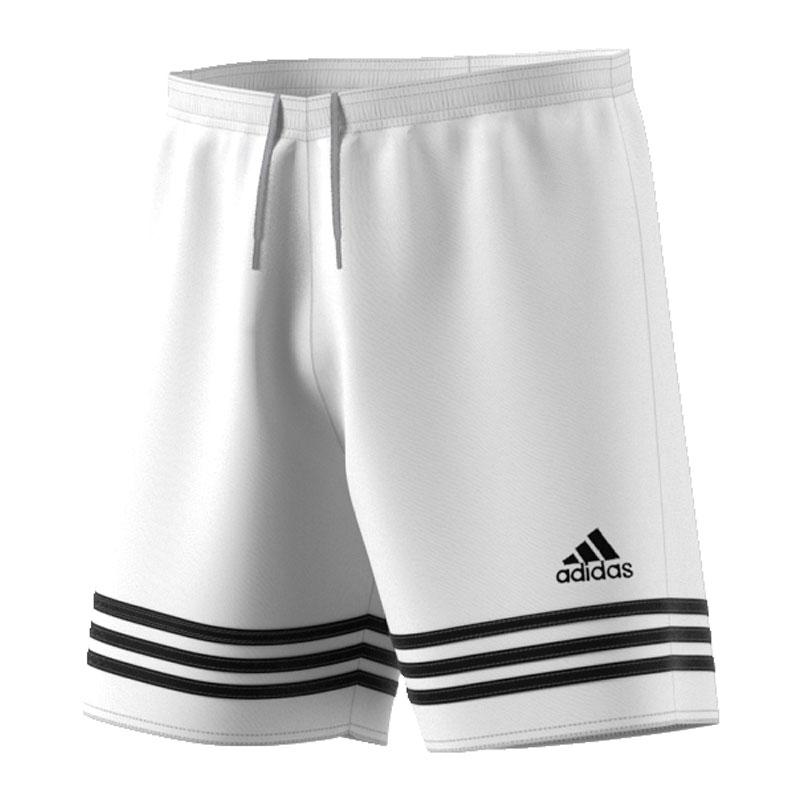 adidas Herren Trainingshorts Entrada 14, weißschwarz