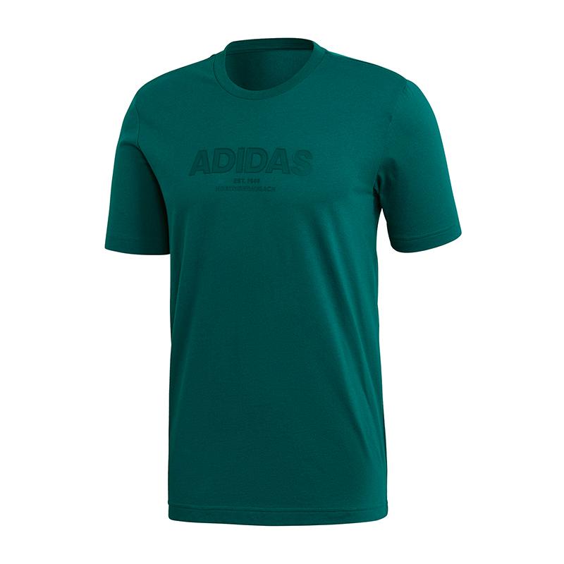 Vert Allcap T shirt Adidas Essentials kOPn0w