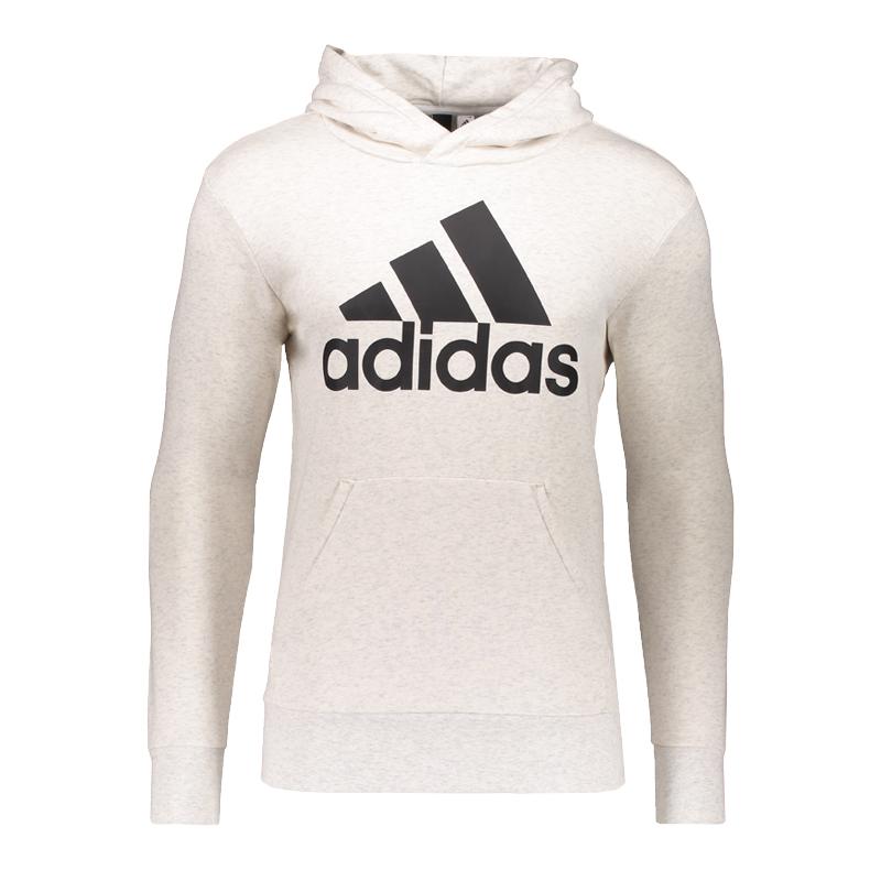 Adidas Essentials Linear Hoody Weiss Schwarz