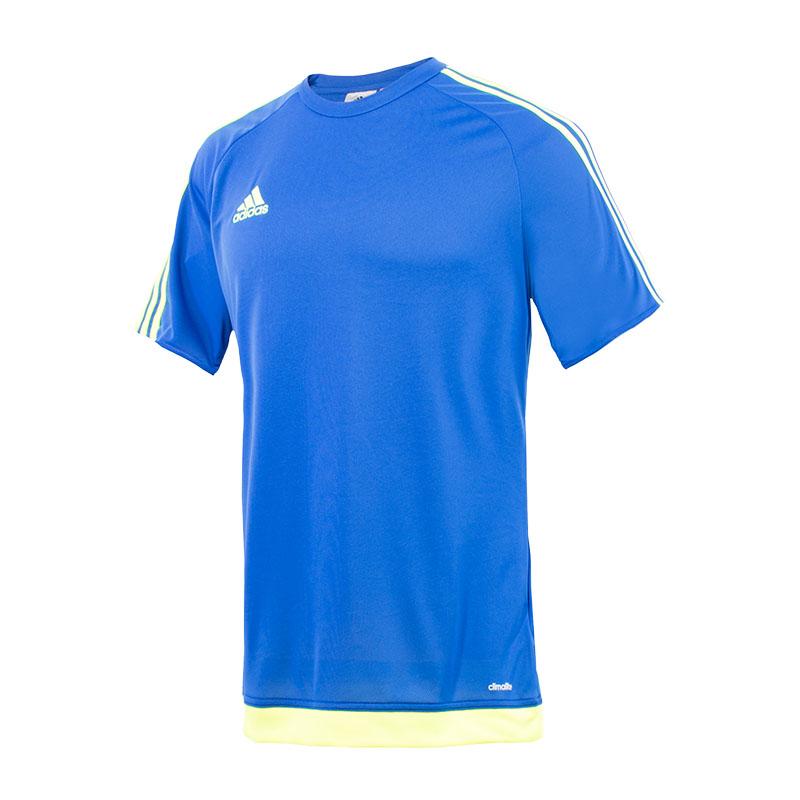 camiseta adidas estro azul