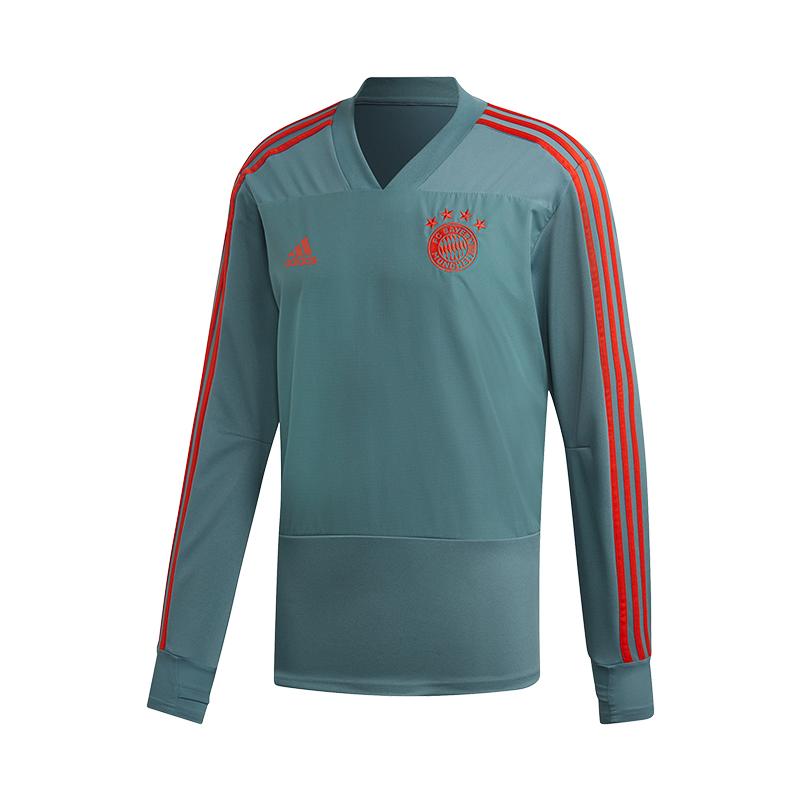 Adidas Fc Bayern München Entraînement Sweat Vert En Voyageant