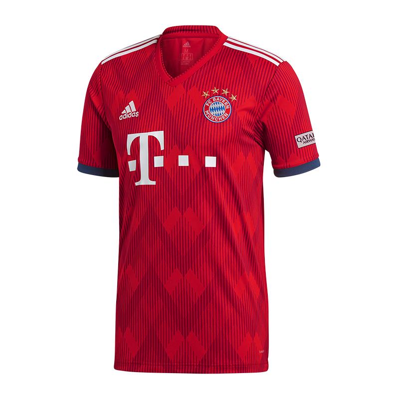 Adidas FC Bayern München München München Trikot Home 2018 2019 8b8d98