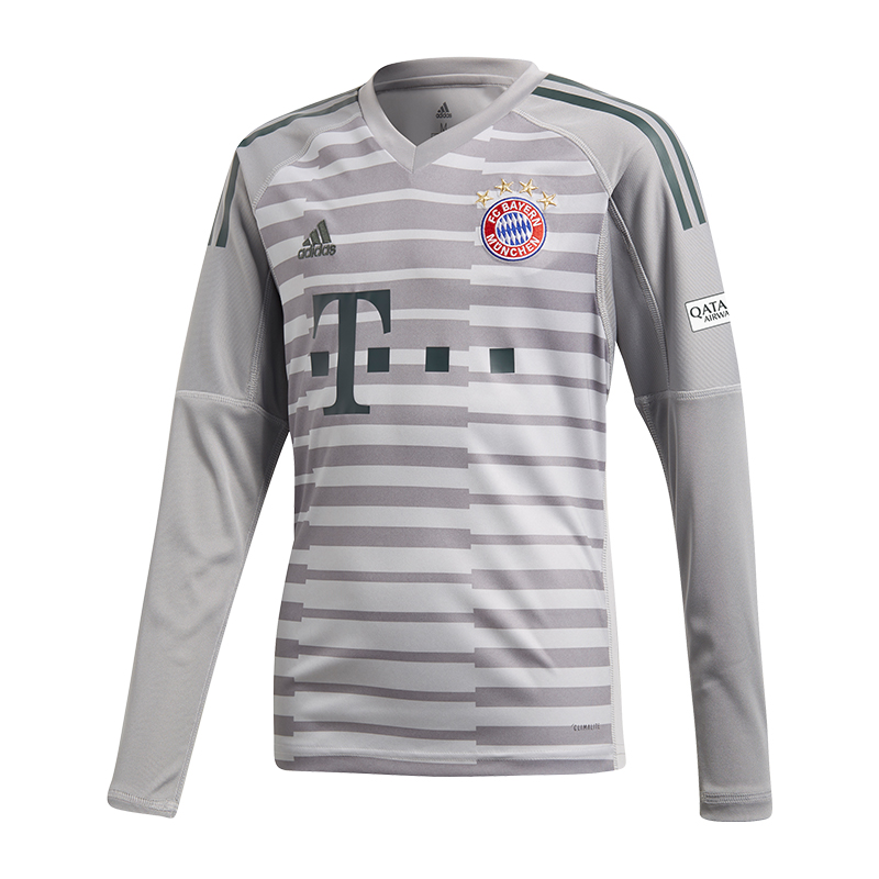 114ca340a Adidas FC Bayern Maillot de Gardien But Home Enfants 18 19 München ...