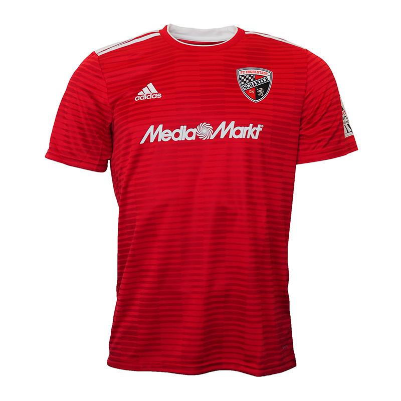 Adidas FC Ingolstadt 04 Camiseta Casa Rojo 2018 2019
