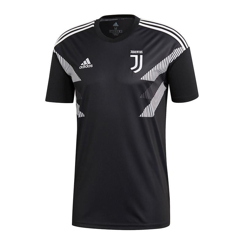 Adidas Adidas Adidas FC Juventus Turin Prematch Shirt Schwarz 4ed449