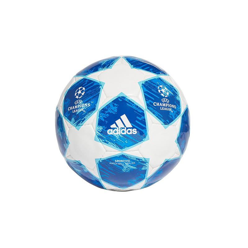 Adidas Finale18 Mini Balles Blanc Bleu