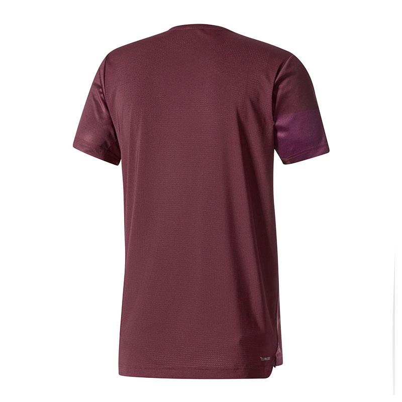 adidas-Freelift-Climacool-GFX-2-T-Shirt-Lila