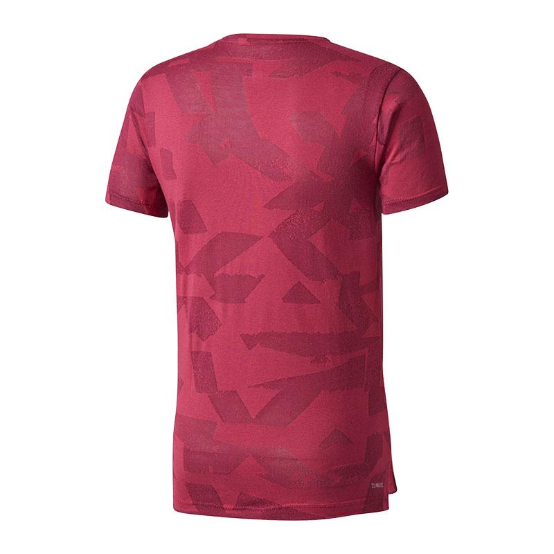 adidas-Freelift-Elevated-T-Shirt-Rot Indexbild 2