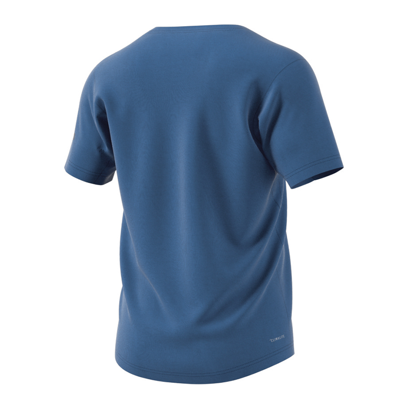 adidas-Freelift-Prime-Tee-T-Shirt-Blau Indexbild 2