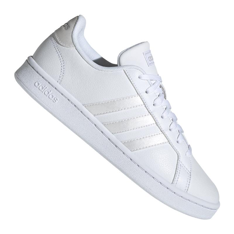 ADIDAS GRAND COURT Sneaker Damen Weiss Grau - EUR 59,21 ...