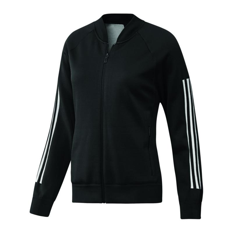 adidas-ID-Knit-Bomber-Jacke-Damen-Schwarz