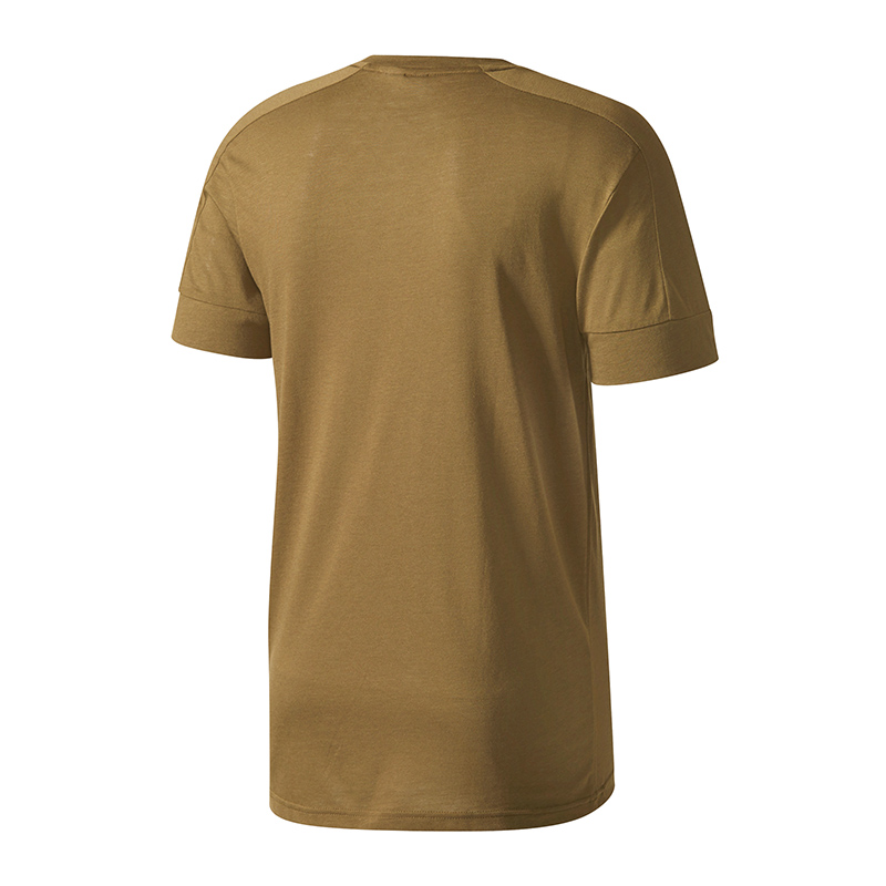 adidas-ID-Stadium-Tee-T-Shirt-Braun