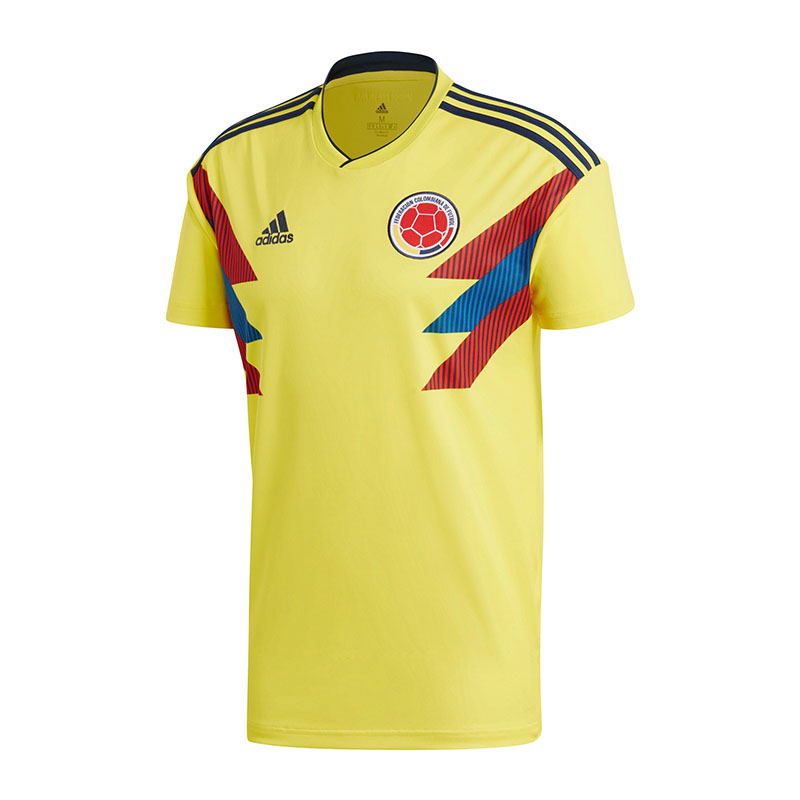 Adidas Colombia Home Jersey World Cup 2018 Yellow