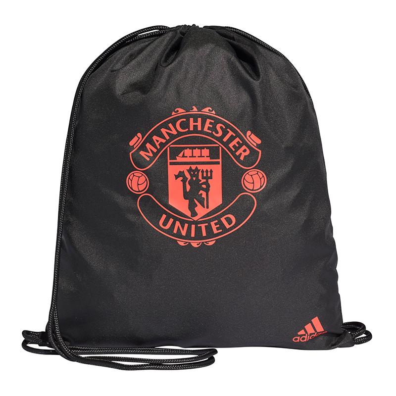 68f1134f8f Adidas Manchester United Gymbag Sac de Sport Noir | eBay