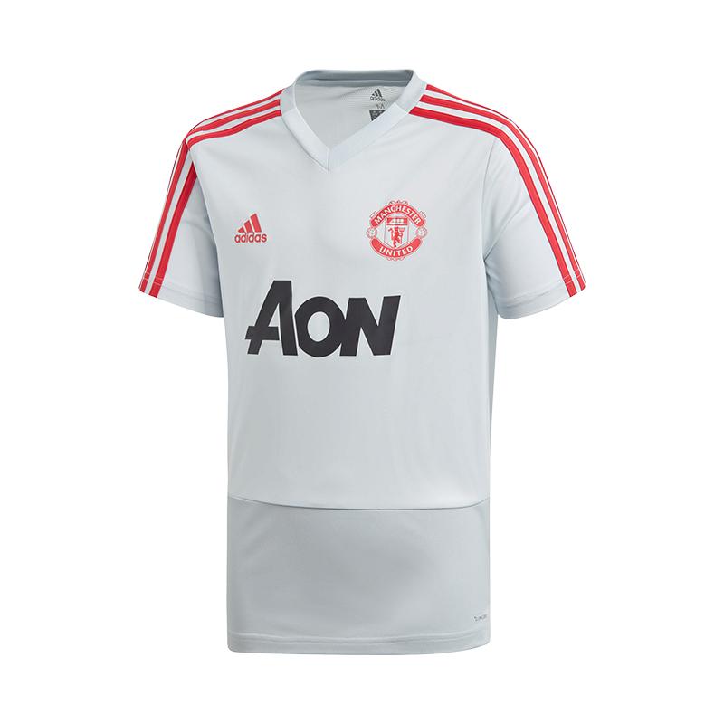 cheap sale to buy release info on Détails sur Adidas Manchester United Haut pour Entraînement Enfants Gris